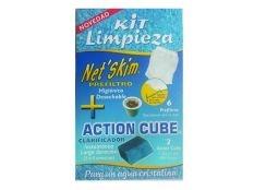 Kit de limpieza para filtro piscina y spa (6 Net Skim)