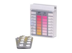 Kit Pooltester análisis de agua para cloro libre y pH de Astralpool