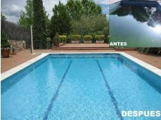 Limpieza de piscina en La Moraleja
