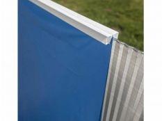 Liner azul para piscina redonda Gre 20/100 - Altura 90 - Sistema Overlap