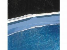 Liner azul para piscina redonda Gre 40/100 - Altura 120 - Sistema colgante