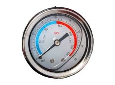 Manómetro filtro piscina Kripsol Granada con conexión inferior de 1/4