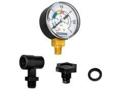 Manómetro filtro piscina Astralpool con conexión inferior de 1/8