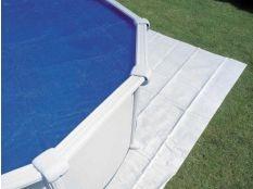 Manta protectora de suelo para piscinas hinchables o desmontables Gre