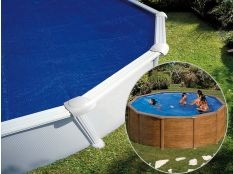 Manta térmica circular Gre para piscinas desmontables