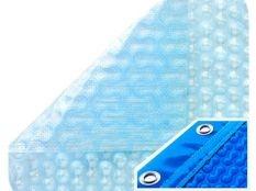 Manta térmica piscina barata GeoBubble 800 micras Sol Guard con orillo