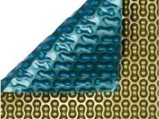 Manta térmica piscina barata GeoBubble Oro 500  micras sin orillo