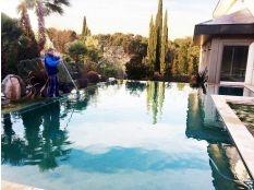 Mantenimiento de piscinas Puerta de hierro