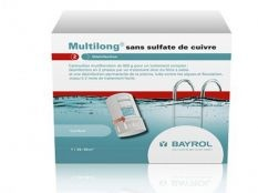 Cartuchos de cloro multifuncion Multilong Bayrol