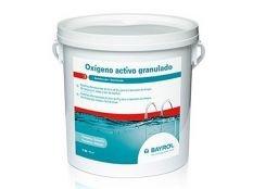 Oxígeno activo granulado Bayrol 5 kg