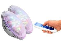 Pack bombillas led piscina Astralpool RGB (colores) + control motion 12 V 27 W 1100 Lumens