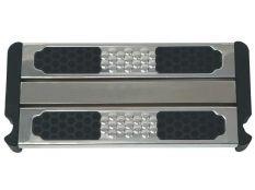 Peldaño doble de seguridad en acero inoxidable Aisi 316L electropulido para escalera de piscina