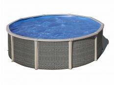 Piscina desmontable circular de acero y perfileria de polipropileno Fusion pool Gre