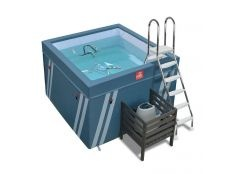 Piscina elevada deportiva Fit's Pool Waterflex de Poolstar