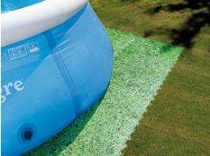 Protector de suelo imitación hierba para piscinas hinchables o desmontables Gre