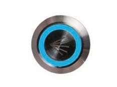 Pulsador piezoeléctrico de 22 mm con botón en acero inoxidable para masaje de piscinas