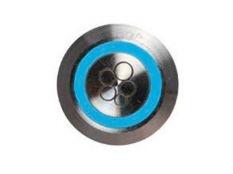 Pulsador piezoeléctrico de 22 mm con botón en acero inoxidable para soplante de piscinas