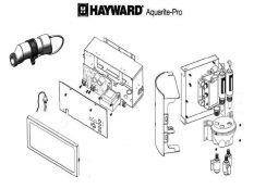 Recambios clorador salino Aquarite Pro Hayward