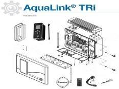 Recambio de equipo domótica AquaLink TRi Zodiac