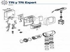 Recambios clorador salino TRi Expert, TRi Expert LS y Tri Zodiac