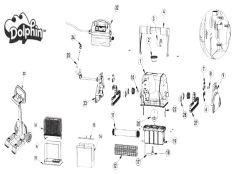 Recambios robot limpiafondos eléctrico Dolphin Diagnostic 2001