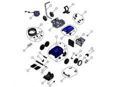 Recambios robot limpiafondos eléctrico RV 5300 Vortex Pro 4WD Zodiac