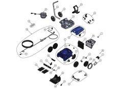 Robot limpiafondos Zodiac RV 5480 iQ Recambios