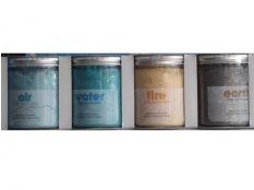 Sales de baño (aire, agua, tierra y fuego) 370 g  para spa