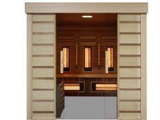 Sauna Combi Access Poolstar para movilidad reducida