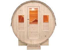 Sauna de vapor Gaia Omega 3-6 personas