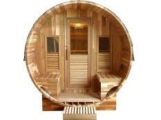 Sauna de vapor Gaia Rossa 3-6 personas
