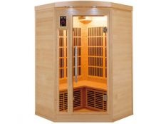 Sauna infrarrojos Apollon rinconera Poolstar 2-3 personas