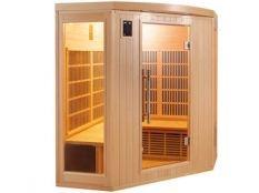 Sauna infrarrojos Apollon rinconera Poolstar 3-4 personas