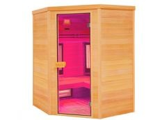 Sauna infrarrojos Multiwave rinconera 3-4 personas Holl's
