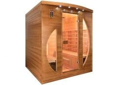 Sauna Infrarrojos Spectra 4 Plazas Poolstar