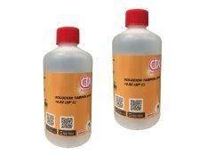 Solución tampón líquido calibrador pH