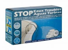 Stop aguas turbias 180 g floculante piscina Gre