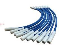 Tensores o goma regulable cobertor invierno para piscinas color azul