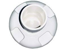 Toma de manguera limpiafondos de aspiración Ctx Certikin en ABS para boquilla Ø 50