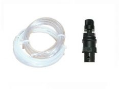 Tubo flexible de cristal y flitro fondo de 4 mm ID x 6 mm OD para bomba Simpool