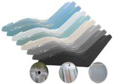 Tumbonas piscina de composite de color personalizable