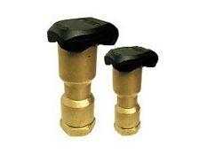 Válvula de acoplamiento rápido hidrante para boca de riego de jardín Toro