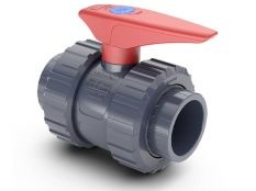 Válvula de bola encolar PVC Hidroten