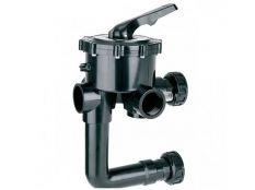 Válvula selectora compatible con Astralpool Classic con enlaces a filtro