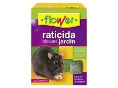 Veneno para ratas Flower en bloques 200 g