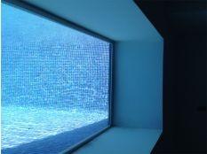 Ventanas subacuática para piscina