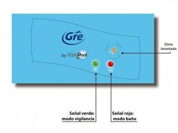 Alarma para piscinas detección de inmersión Gre