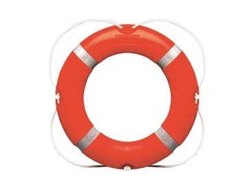 Aro salvavidas piscina profesional de polietileno 73 cm