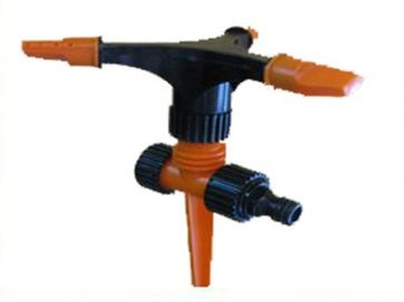 Aspersor rotativo 3 brazos de aluminio con pincho de Gardena
