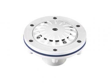 Boquilla de impulsión de fondo Hayward en ABS para roscar Ø 50 mm